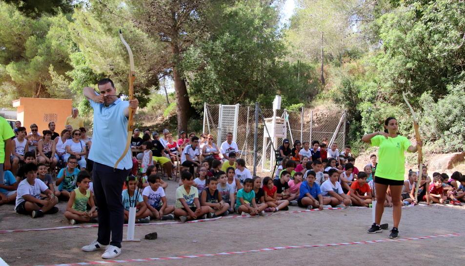 La festa s'ha celebrat a la zona esportiva Eixample Les Piscines.