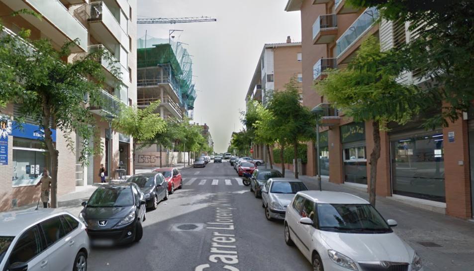 L'atropellament s'ha produït al carrer Llorenç de Vilallonga.