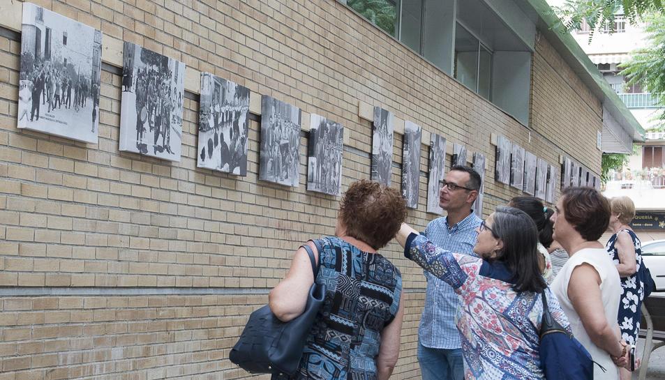 La mostra es va inaugurar el passat 20 de juliol.