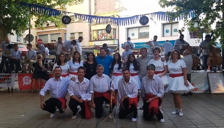 L'esdeveniment va comptar amb la participació de la Colla Sardanista Dansaires del Penedès.