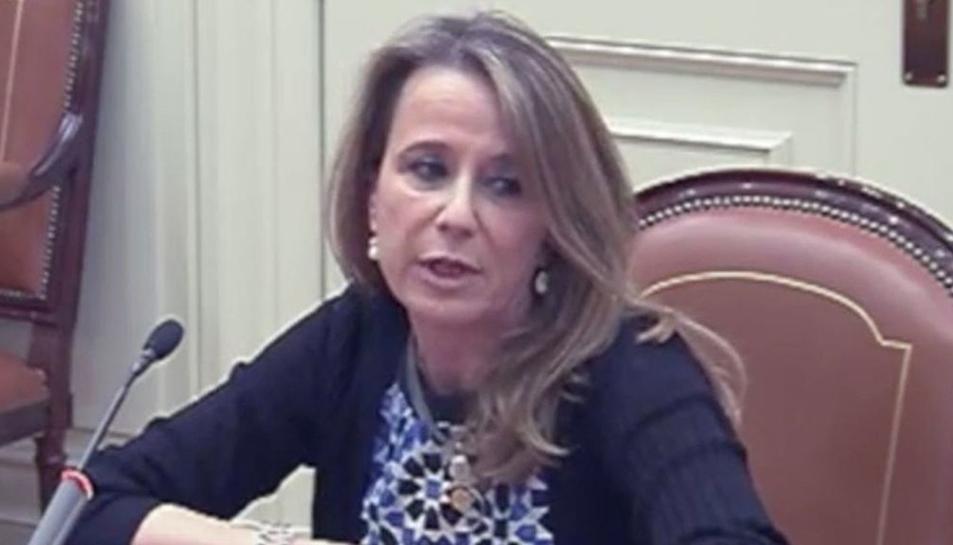 La magistrada Carmen Lamela.