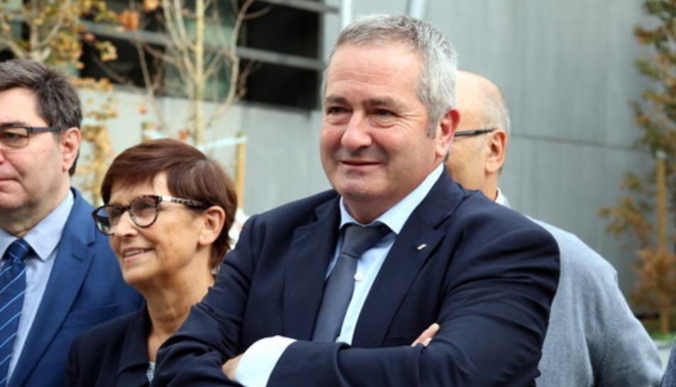 El delegat del govern a les Terres de l'Ebre, Xavier Pallarès.