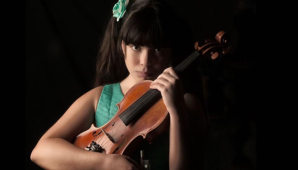 La virtuosa del violí, Jennifer Panebianco, tancarà el II Cicle de Concerts a Centcelles.