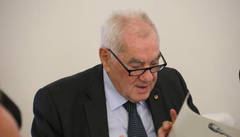 El conseller d'Exteriors, Ernest Maragall, es reunirà amb la ministra de Política Territorial, Meritxell Batet.