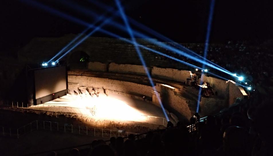 Les imatges del renovat espectacle 'Amfiteatrvm'