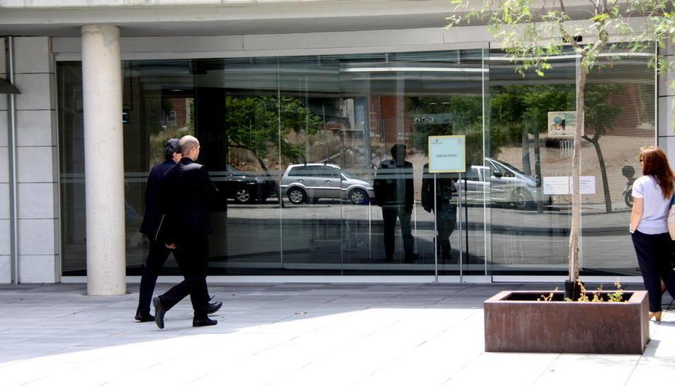 Una imatge d'arxiu de l'exterior de les instal·lacions dels jutjats del Vendrell.