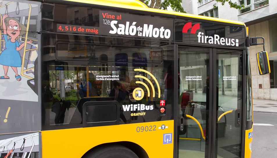 El servei de wifi als autobusos es va instal·lar a principis de maig.