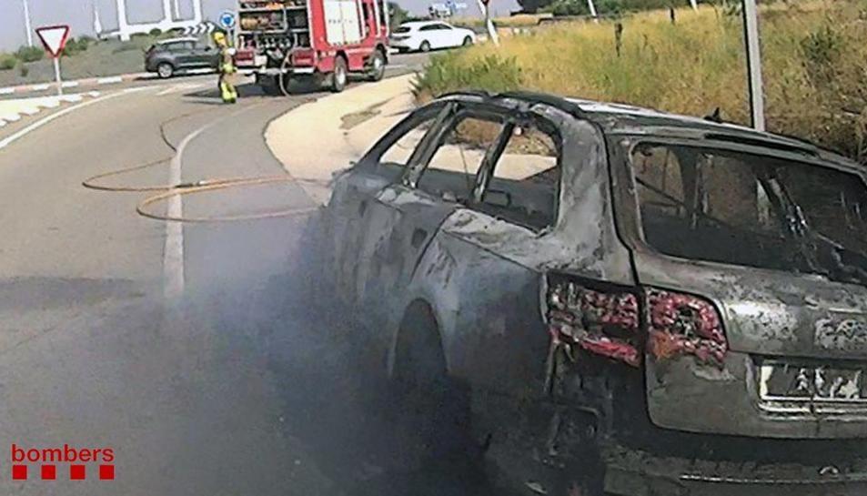 El foc va afectar per complet el turisme