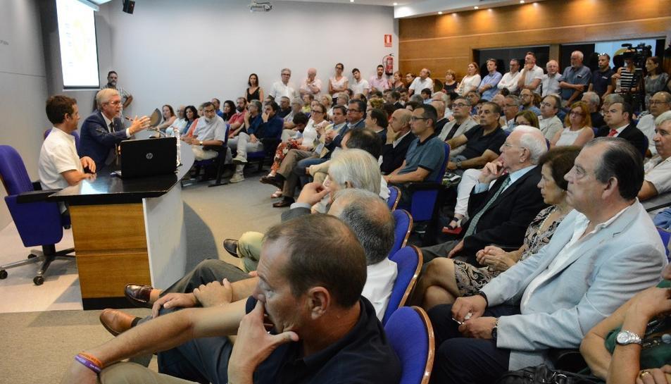 El col·loqui 'Tarragona, del 2008 als Jocs'.