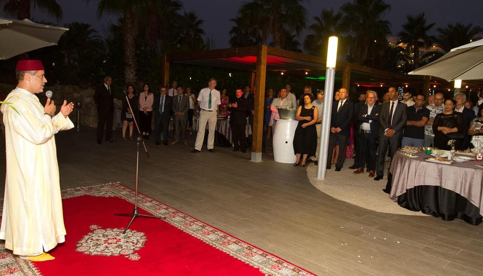 El cònsol del Marroc a Tarragona va oferir la seva tradicional recepció.