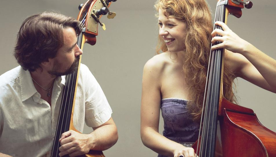 Miquel Àngel Cordero i Gemma Abrié.