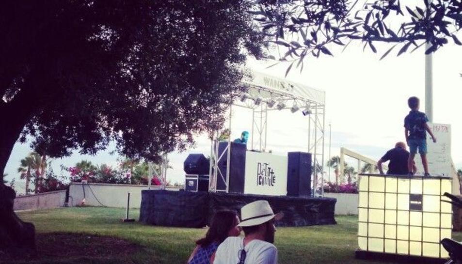 Imatge d'arxiu del festival We are not DJ's de la Ràpita.