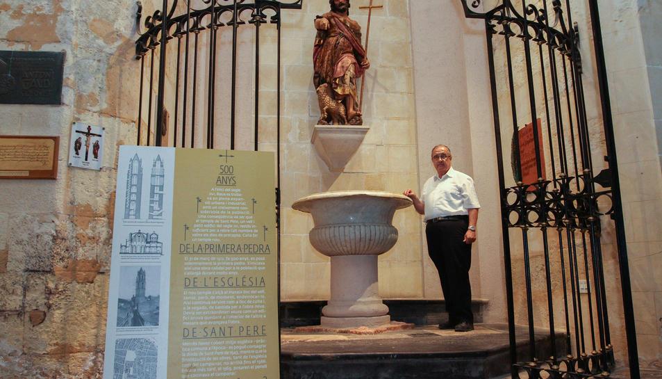 El prior, Mossèn Joan Antoni Cedó, destaca davant la data «la importància de saber d'on venim».