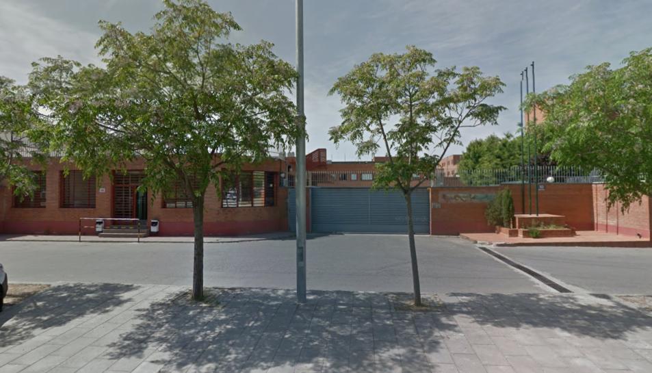 Imatge de l'entrada al centre penitenciari.