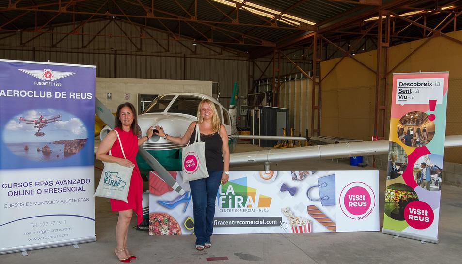 La campanya va presentar-se ahir, al Reial Aeroclub de Reus.