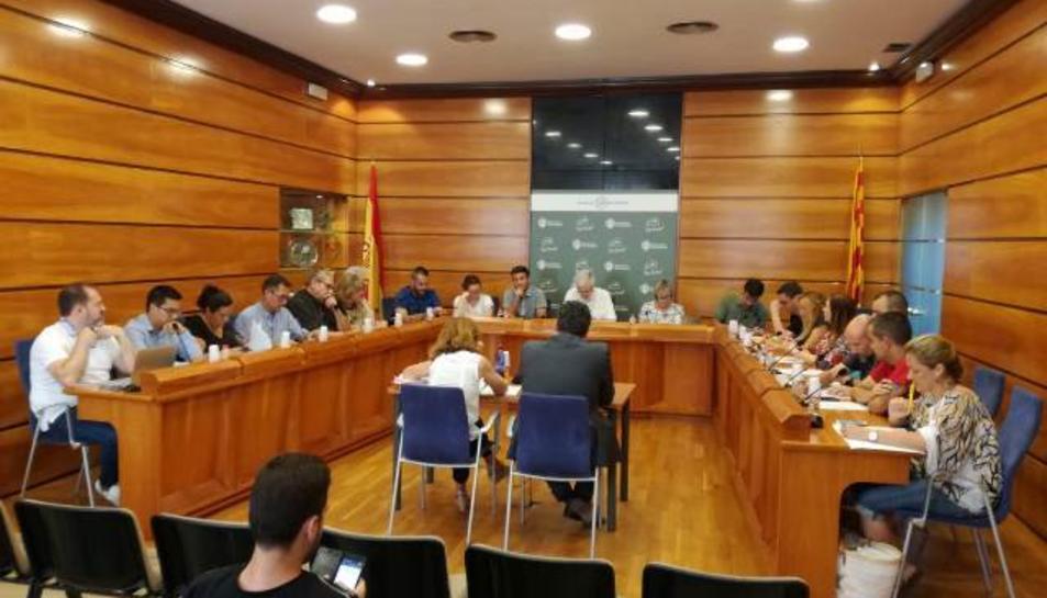 El punt es va aprovar en la sessió plenària celebrada aquest dimarts, 31 de juliol.