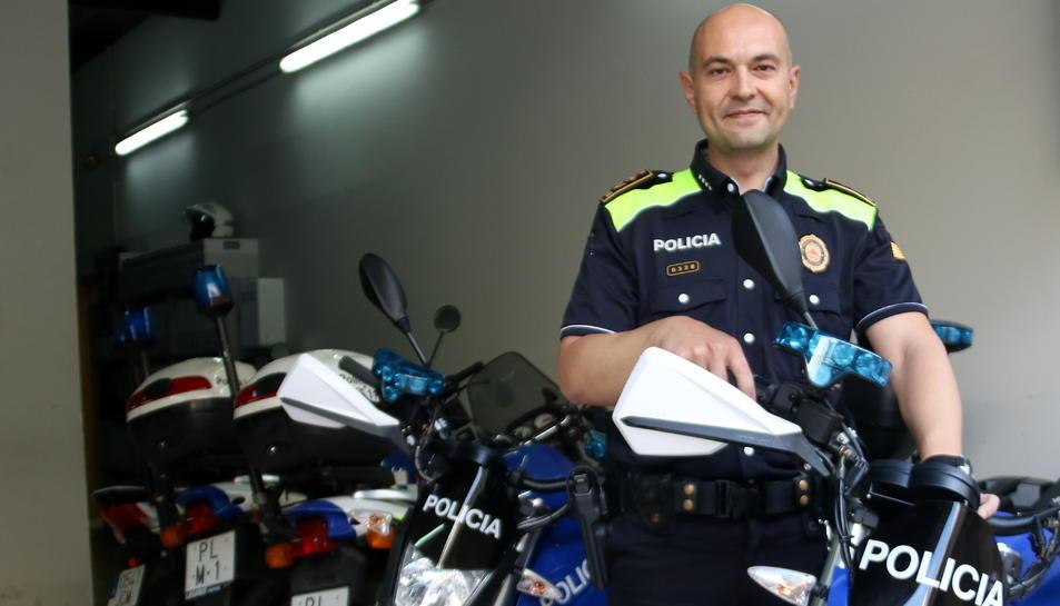 L'inspector en cap de la policia local d'Amposta, Josep Massana.