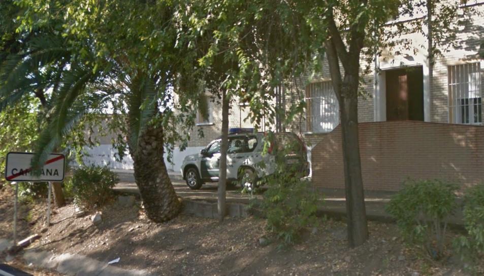 Imatge de la caserna de la Guàrdia Civil a La Campana, Sevilla.