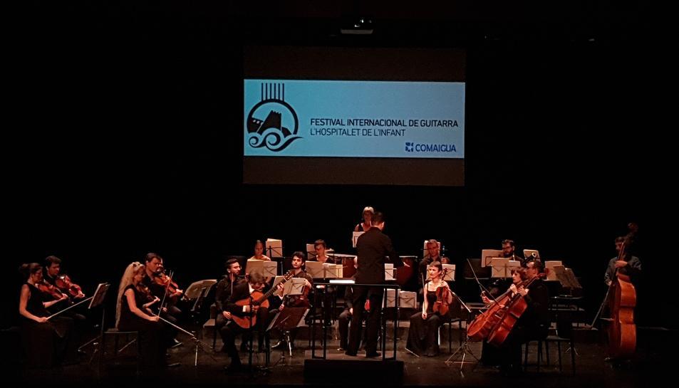 Imatge del concert de cloenda del Festival Internacional de Música de l'Hospitalet de l'Infant.