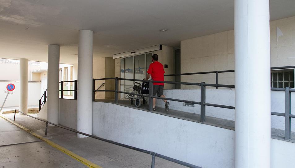 El centre de salut viu una intervenció a la zona d'urgències.