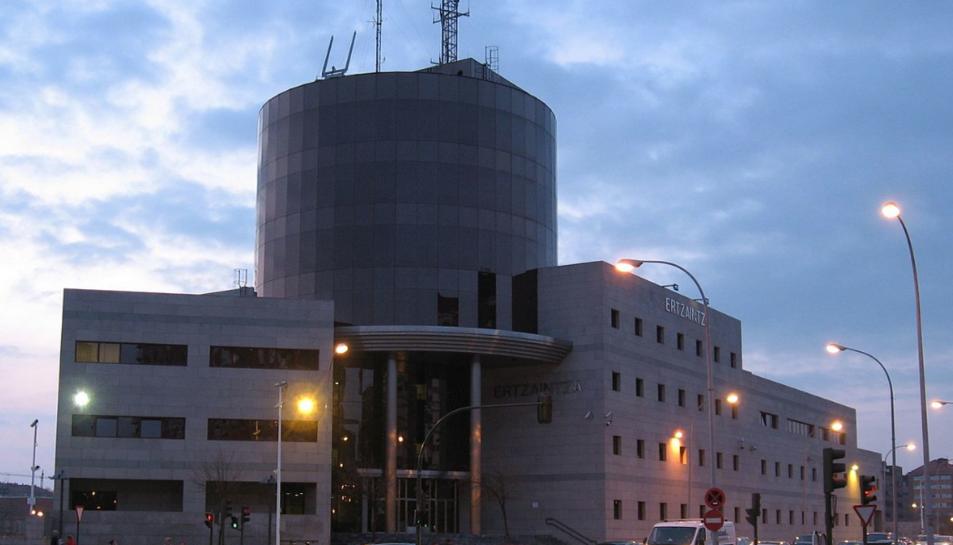 Imatge de la Comissaria de l'Ertzaintza deVitòria.