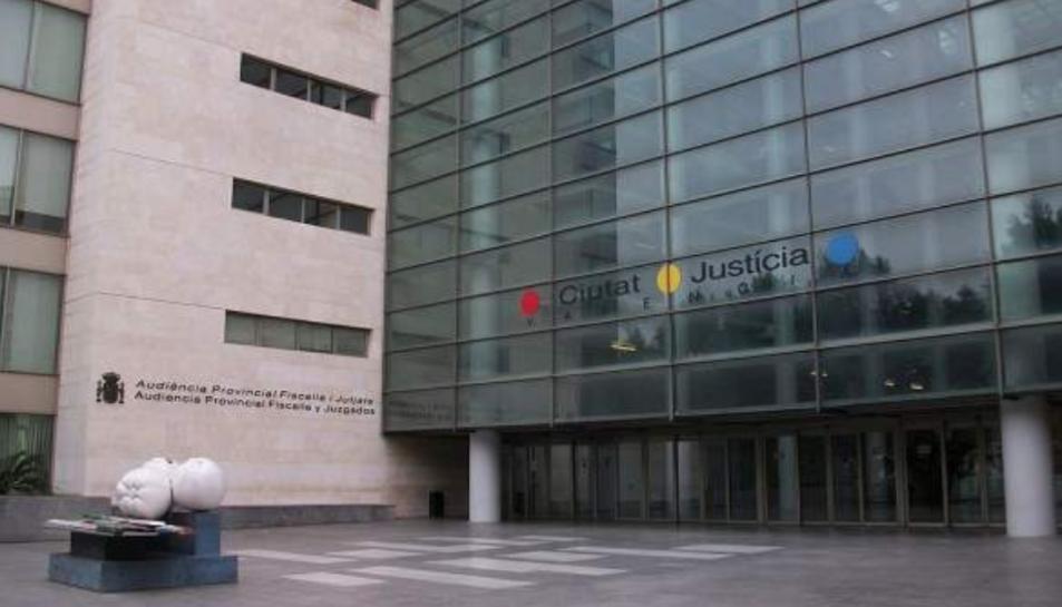 Imatge d'arxiu de l'Audiència Provincial de València.