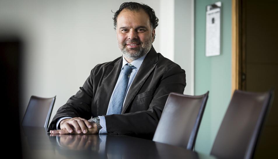 El president del Grup Henneo, Fernando de Yarza López-Madrazo.