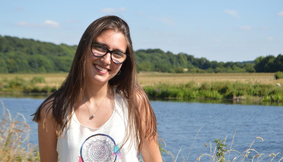 La tarragonina Maria Blasco va arribar a Anglaterra el 2015.