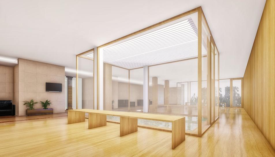 Una recreació de l'aspecte que tindrà l'espai un cop remodelat.