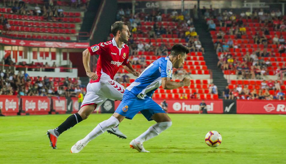 Kakabadze, durant el partit contra l'Espanyol.