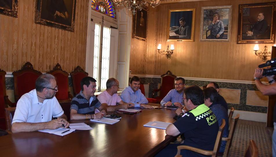 Aquest divendres s'ha celebrat la primera reunió de treball que marca el punt de partida per implantar el protocol.