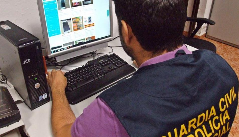 Els agents van poder detectar el grup després de vuit mesos d'investigació i rastrejos informàtics.