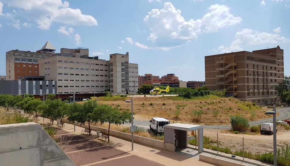 Els estudis d'arquitectura seleccionats han planificat el nou hospital fent un ús diferent de l'espai actualment disponible.