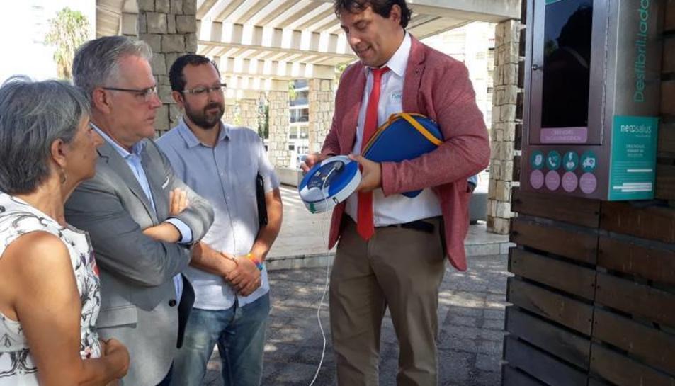 Pere Granados i David González van vistar el nou empleçament.
