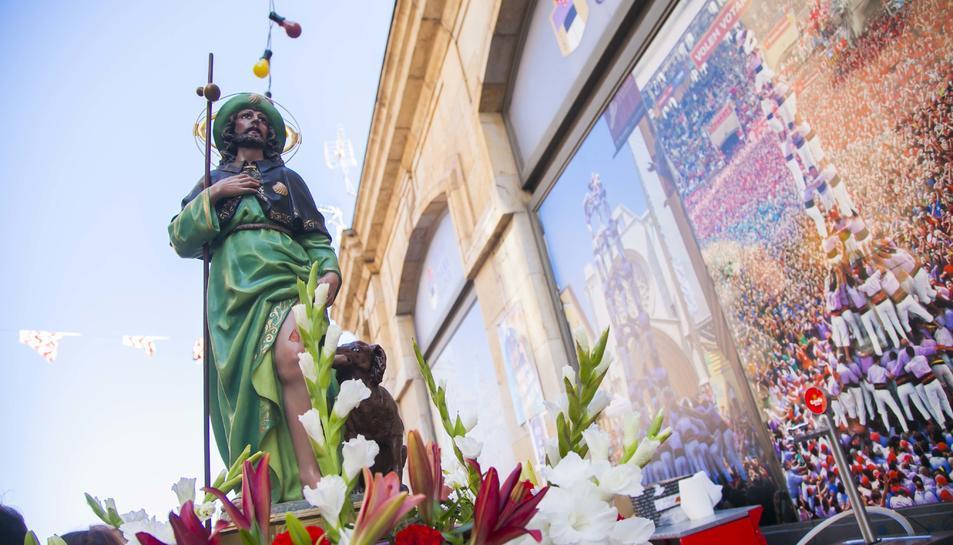 Tarragona viu la processó de Sant Roc