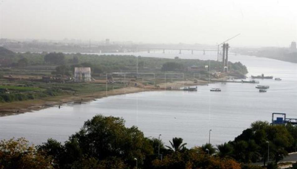 Imatge d'arxiu del riu Nil.