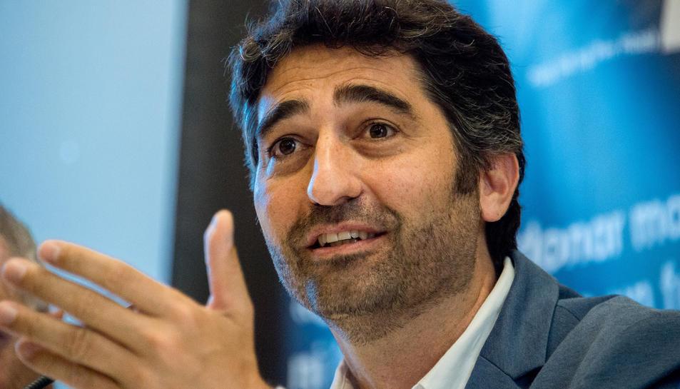 Pla tancat del conseller de Polítiques Digitals i Administració Pública, Jordi Puigneró.