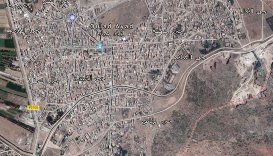 La ciutat d'UladAyad està a la província deBeniMelal, al centre del Marroc.