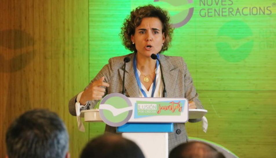 Imatge d'arxiu de la portaveu del PP al Congrés, Dolors Montserrat.