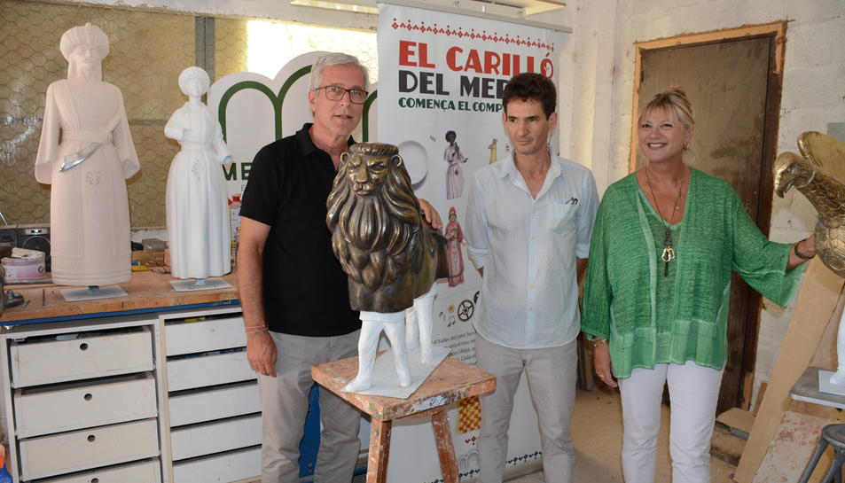 A PRIMERA DE L'ALCALDE, ELVIRA FERRANDO I JOAN SERRAMIÀ I