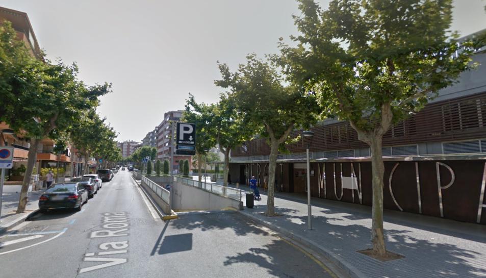 Imatge del carrer on van tenir lloc els fets.
