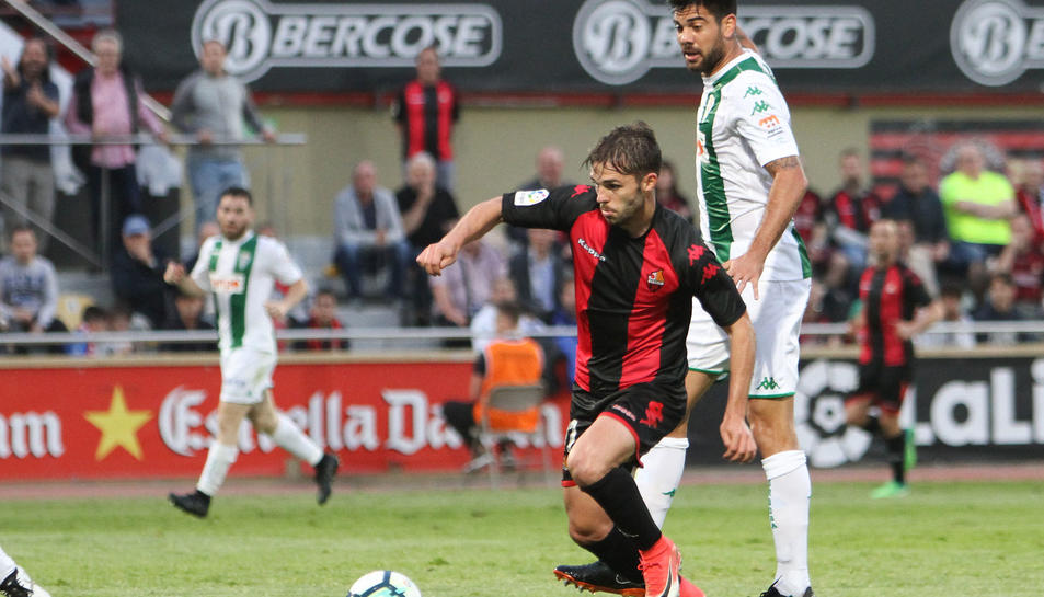 Imatge d'arxiu de Fran Carbia en un partit de la temporada passada.