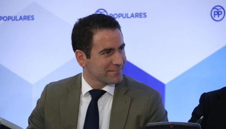El secretari general del PP, Teodoro García.
