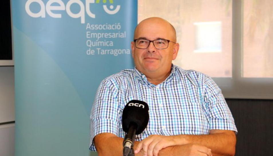 El gerent de l'AEQT, Juan Pedro Díaz.
