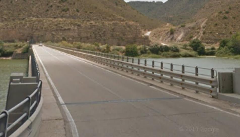 El pont del Camí de Sirga.