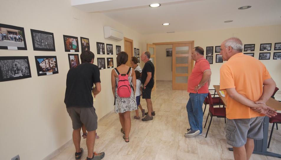 Un any més l'Ajuntament ha acollit l'exposició 'Imatges pel Record'