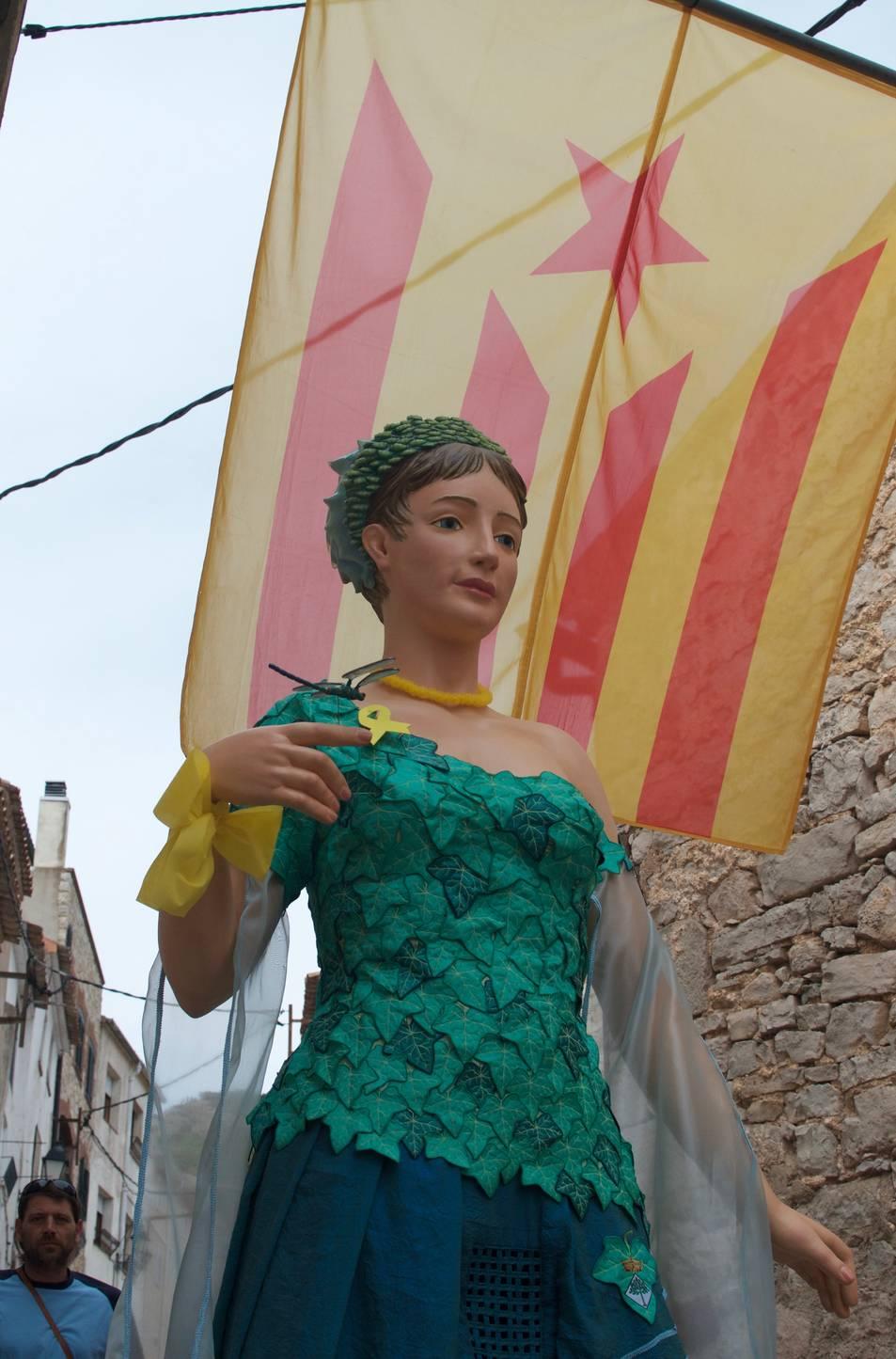 La Dona d'Aigues dels Gorgs de la Febró.
