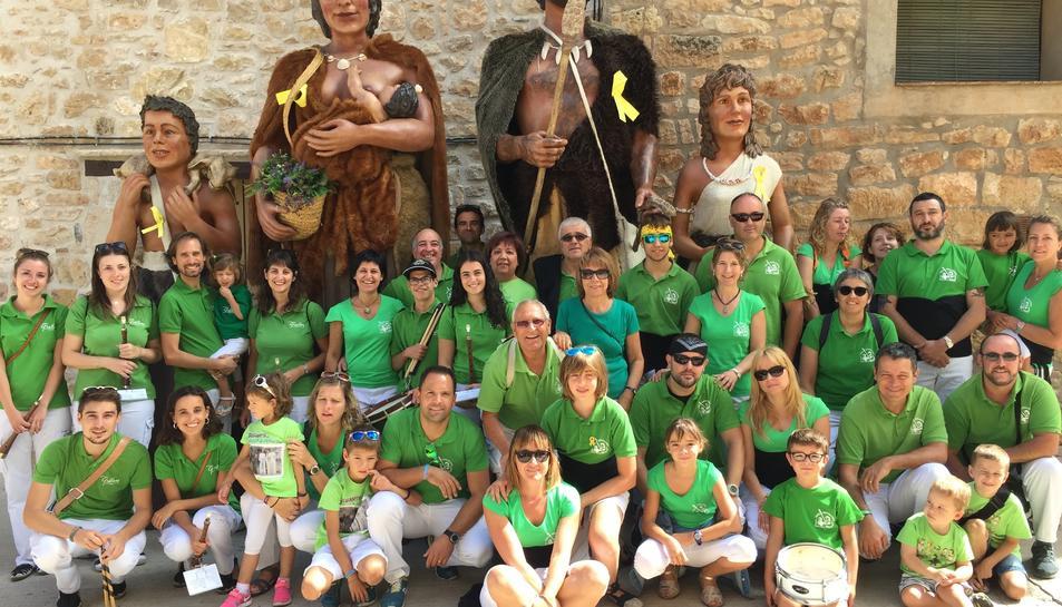 Els Grallers i Gegants de l'Espluga han participat en la Festa Major de Vallclara.