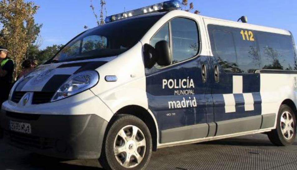 Imatge d'arxiu d'un vehicle de la Policia Municipal de Madrid.