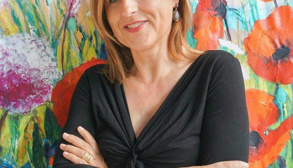 L'artista Glòria Grau, en una imatge d'arxiu.